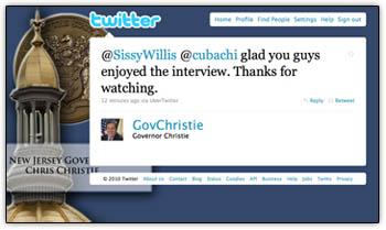 Christie_tweets_girls