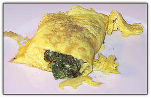 Spinachomelet