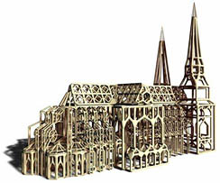 Meshmodelcathedral