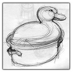 Duckdishdrawing