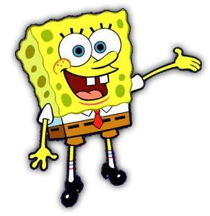 sponge bob kleurplaten